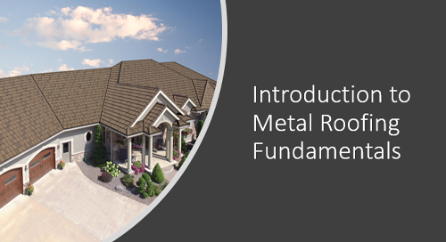 Introduction to Metal Roofing Fundamentals